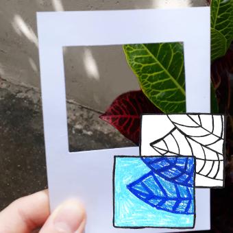 Desenho com janela mágica
