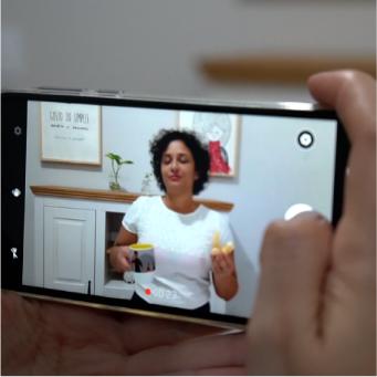 Vídeo com celular